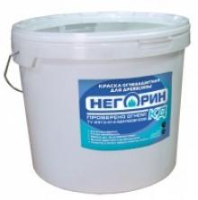 Краска огнезащитная на водно-дисперсионной основе для древесины «НЕГОРИН - КД»